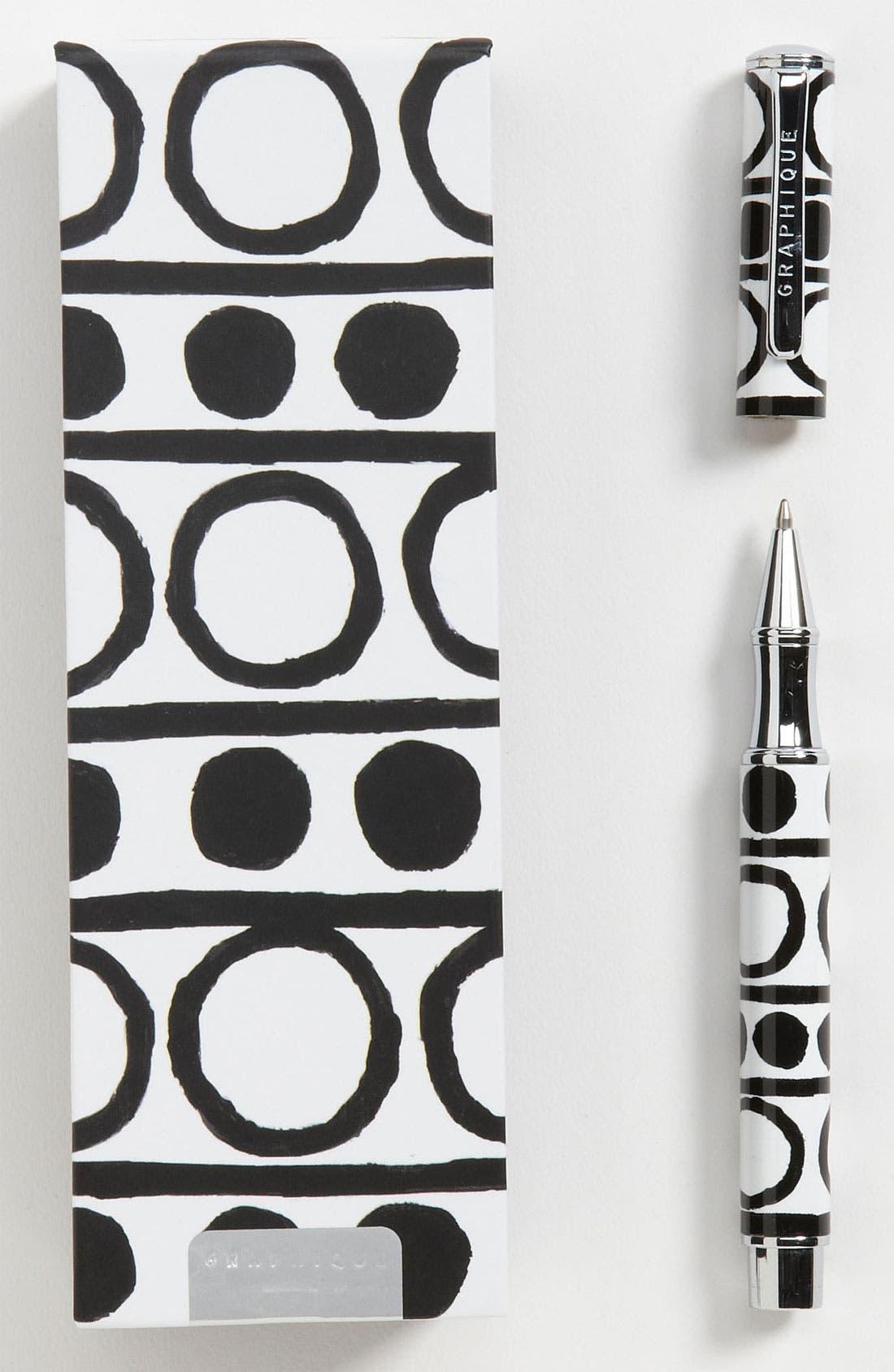 Alternate Image 1 Selected - Graphique de France 'Koco - Dots' Rollerball Pen