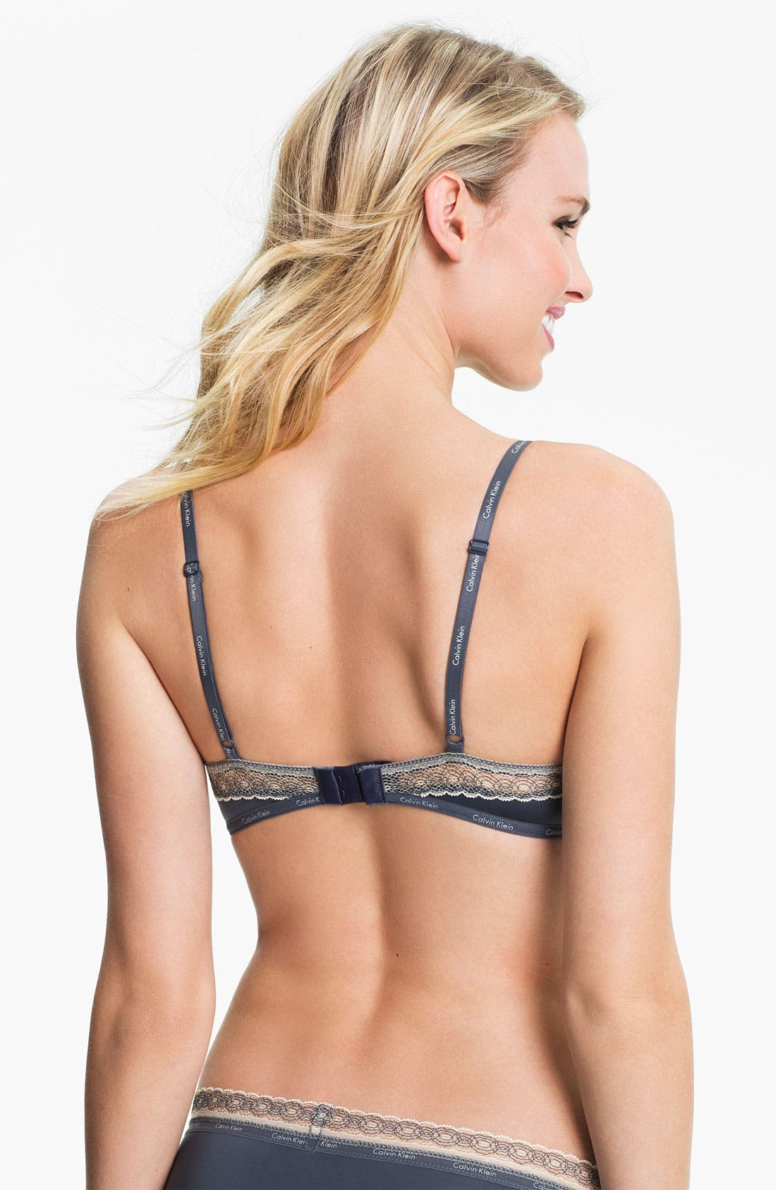Alternate Image 5  - Calvin Klein 'Perfectly Fit Sexy Signature' Underwire Bra