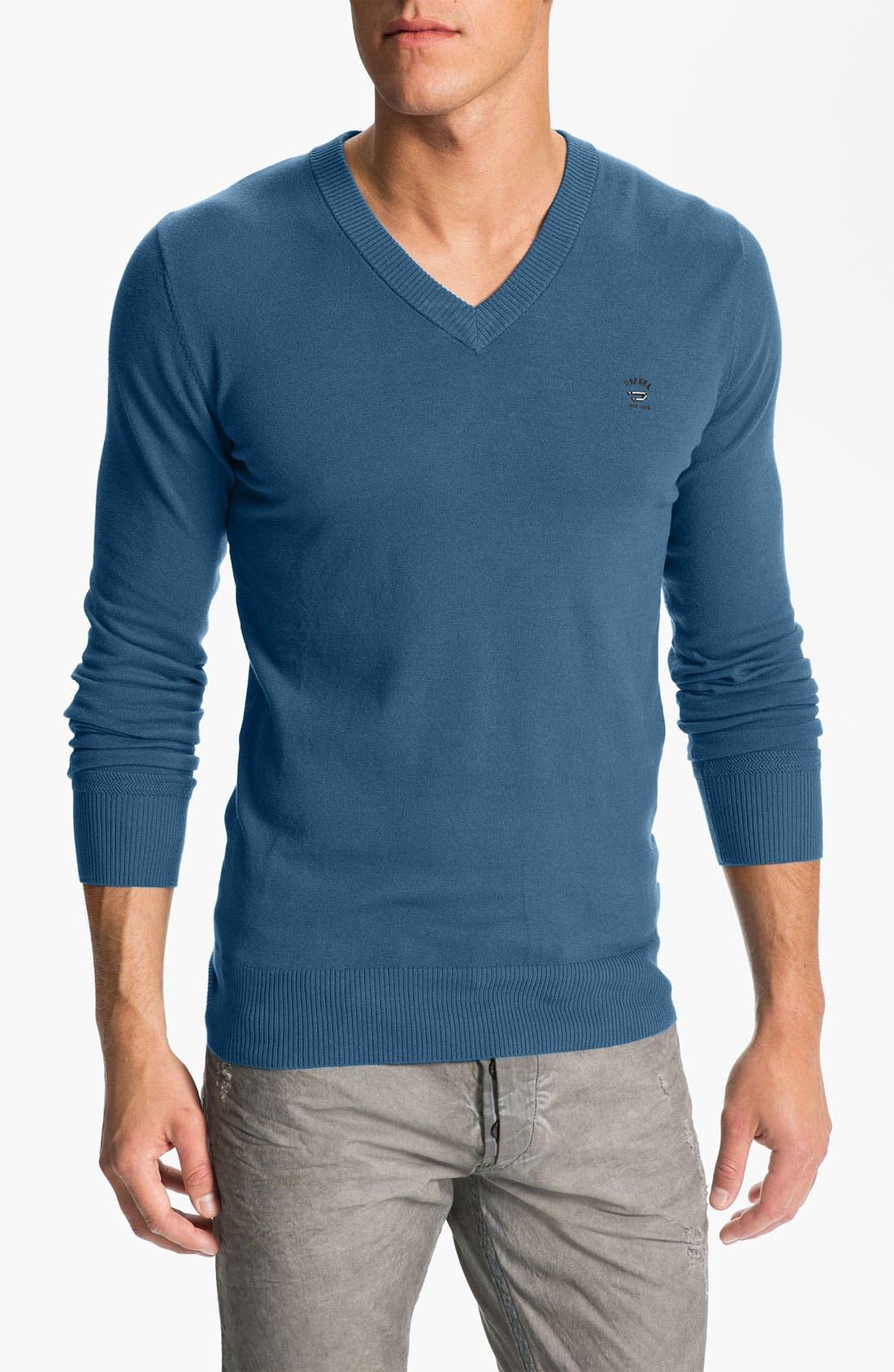 Alternate Image 1 Selected - DIESEL® 'K-Meceneo' V-Neck Sweater