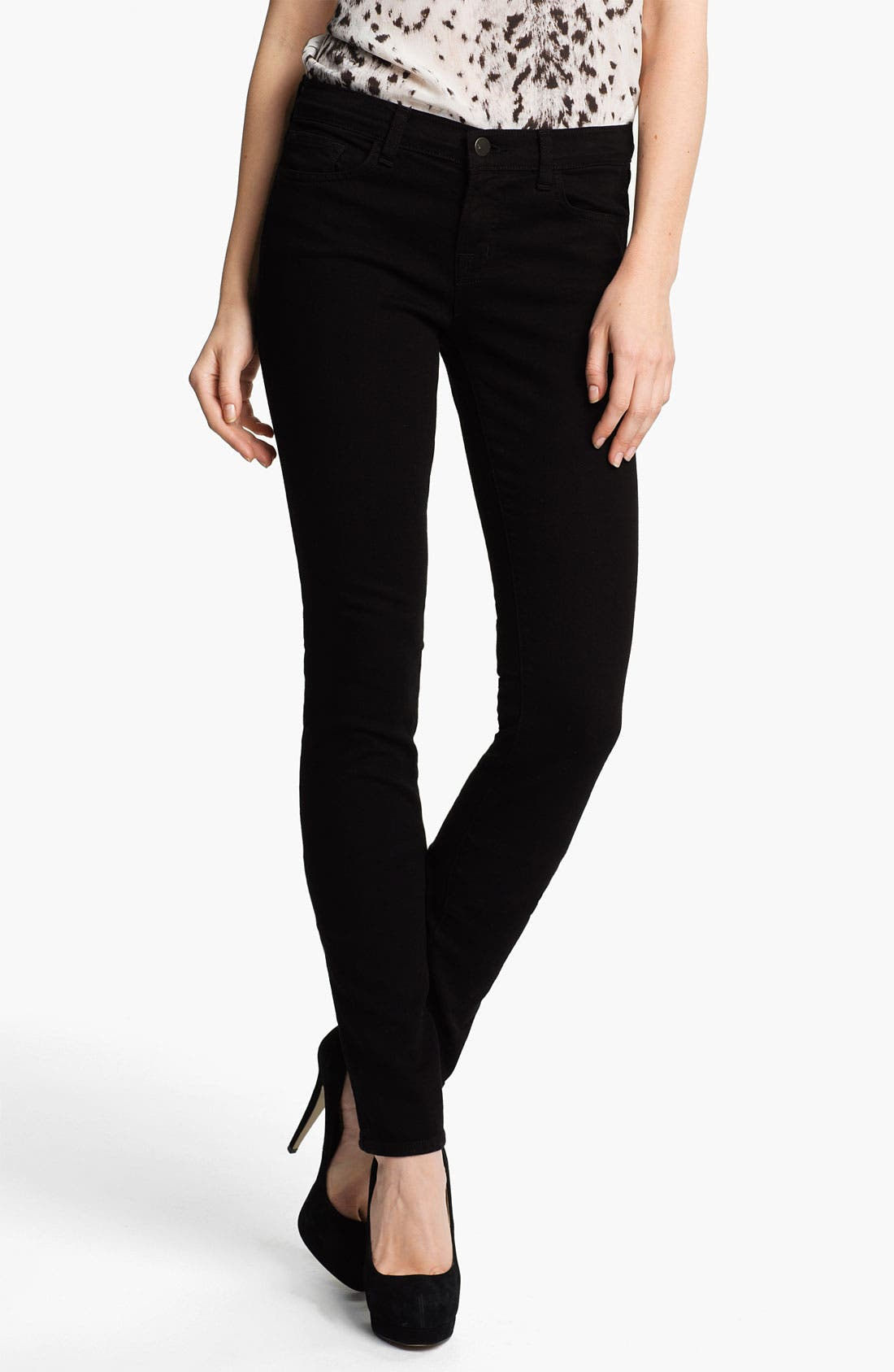 Alternate Image 1 Selected - J Brand 'Pencil Leg' Stretch Jeans (Shadow)