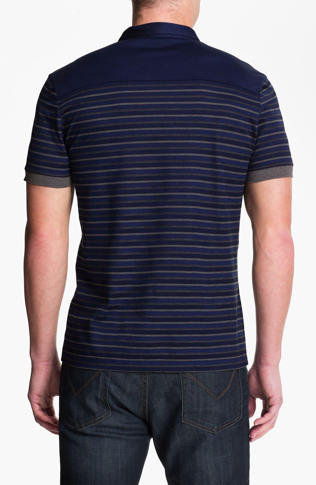 Alternate Image 2  - Versace Short Sleeve Polo Shirt