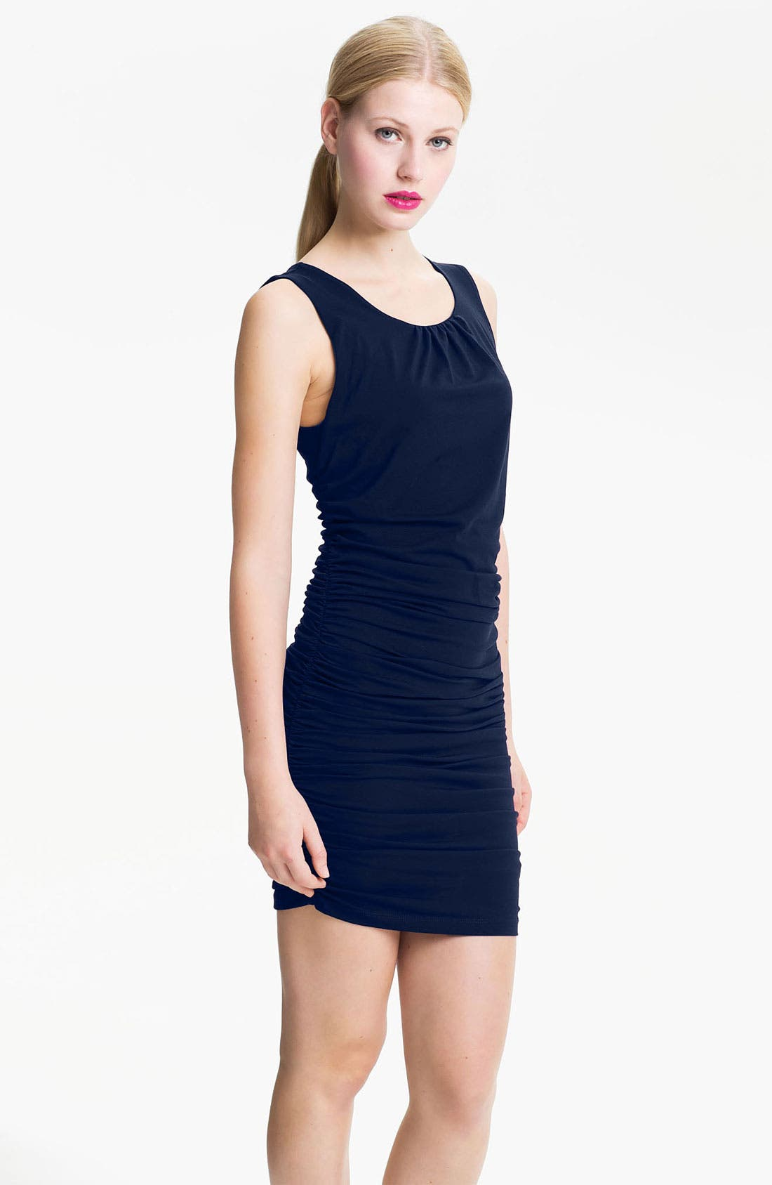 Alternate Image 1 Selected - DKNYC Ruched Tank Dress