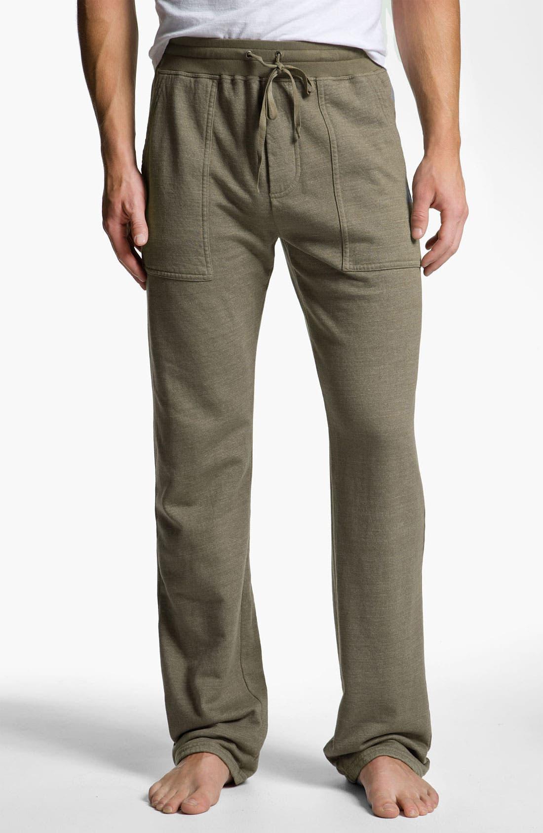 Alternate Image 1 Selected - Splendid Mills 'Dane' Slim Straight Leg Lounge Pants