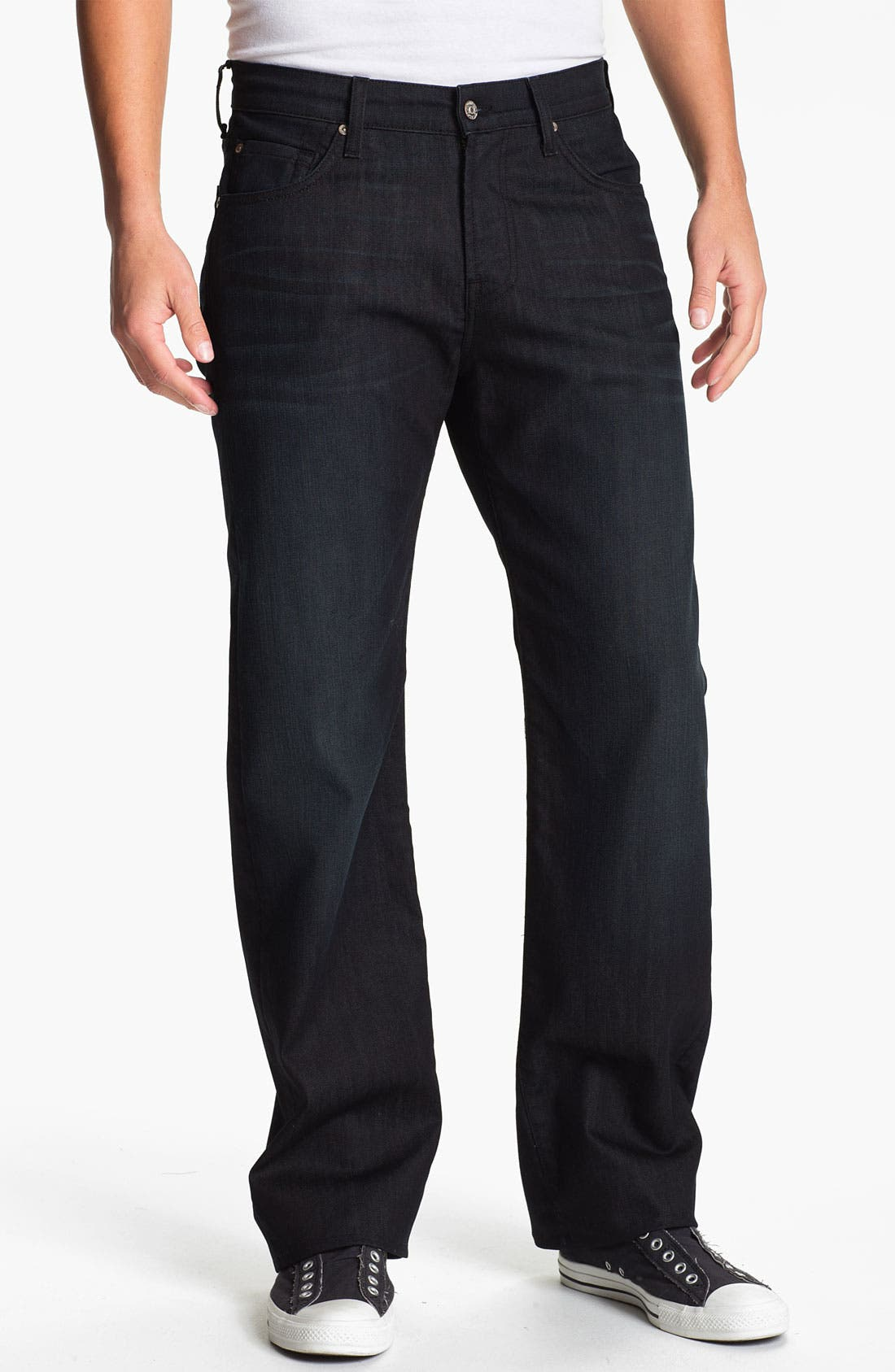 Alternate Image 2  - 7 For All Mankind® 'Austyn' Relaxed Fit Jeans (Baileyville)