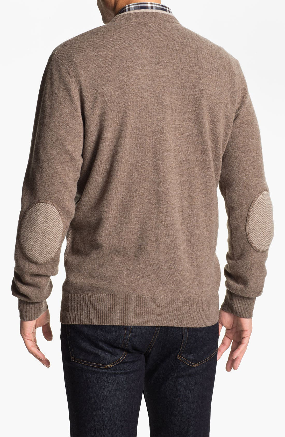 Alternate Image 2  - Franco Danti Wool Button Cardigan