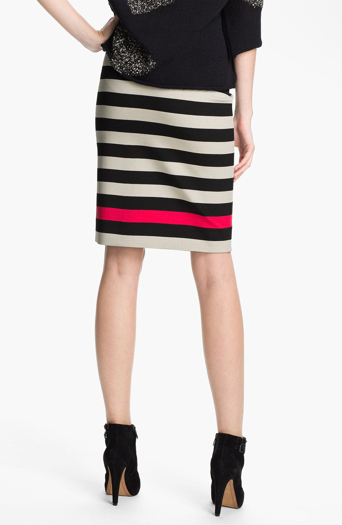 Alternate Image 2  - Diane von Furstenberg 'New Koto' Stripe Skirt