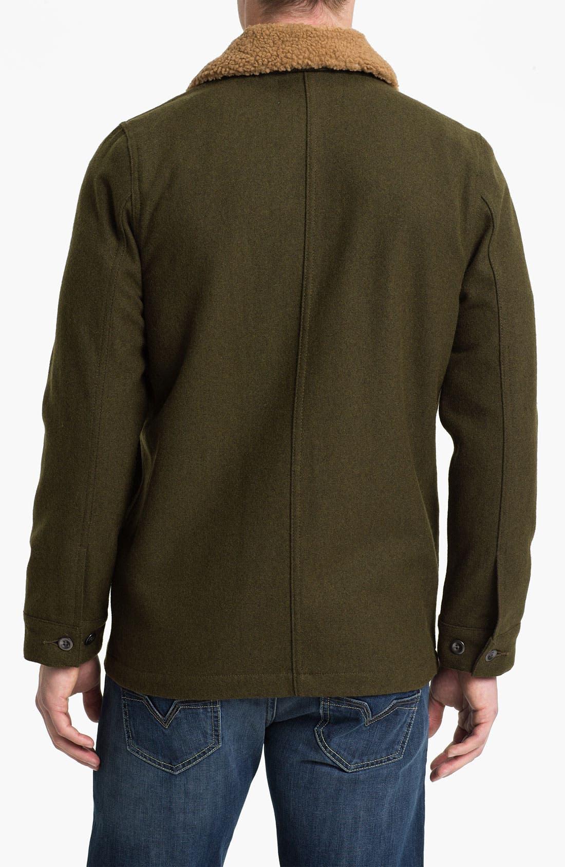Alternate Image 2  - Obey 'Winston' Wool Workwear Jacket