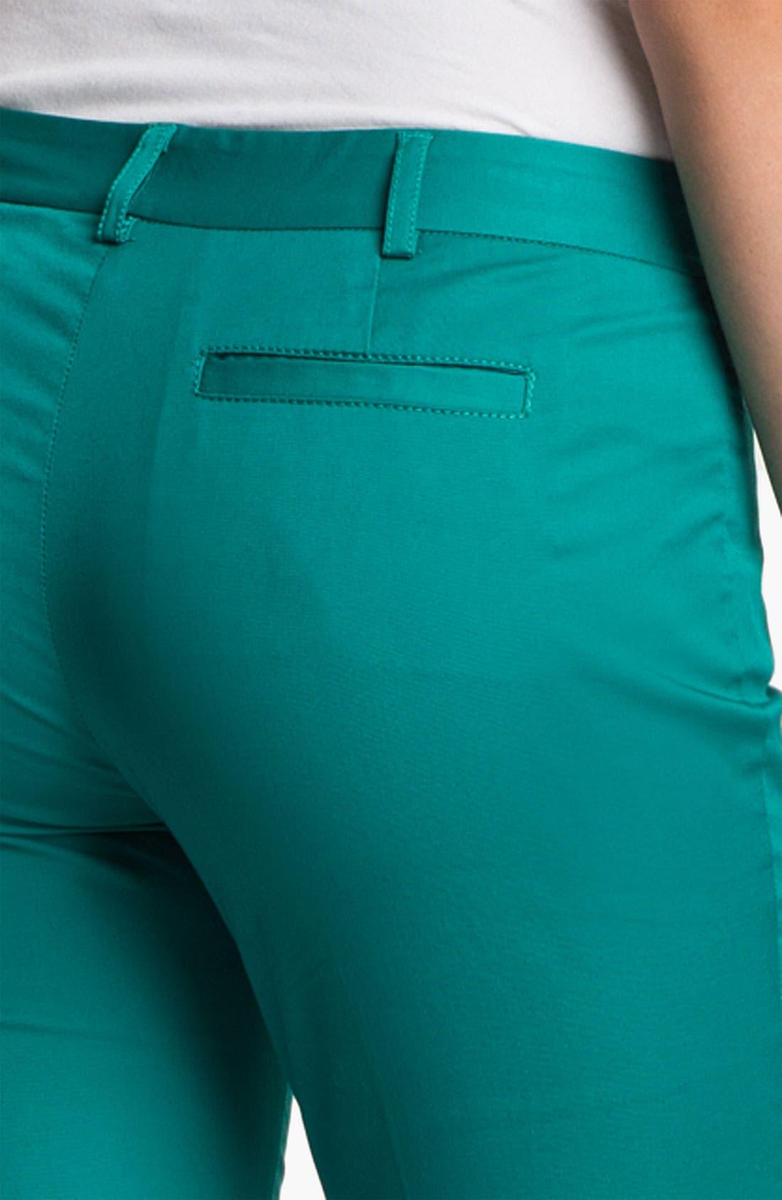 Alternate Image 3  - MICHAEL Michael Kors Zip Pocket Ankle Pants (Petite)
