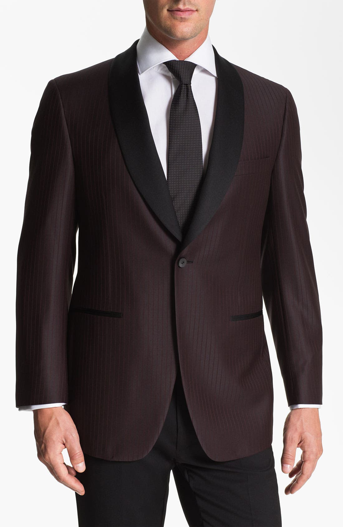 Main Image - Samuelsohn Shawl Lapel Dinner Jacket