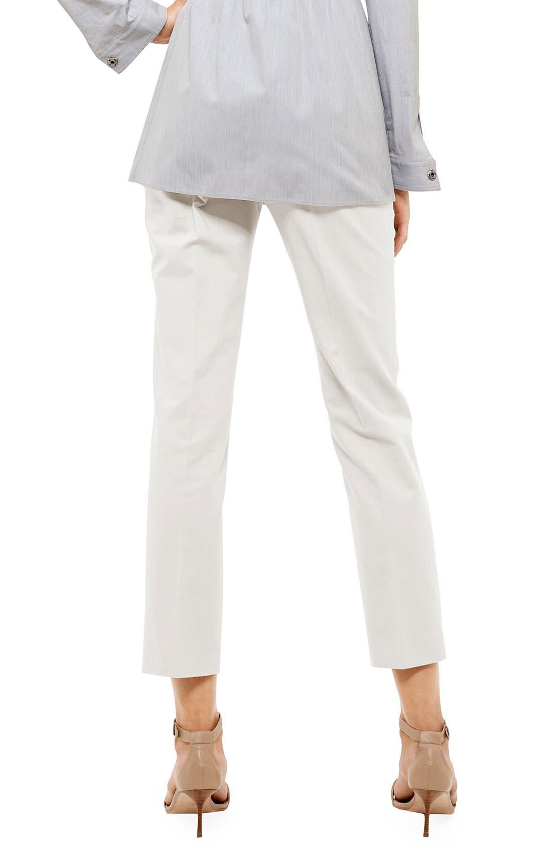 Alternate Image 2  - Akris punto 'Franca' Jersey Crop Pants