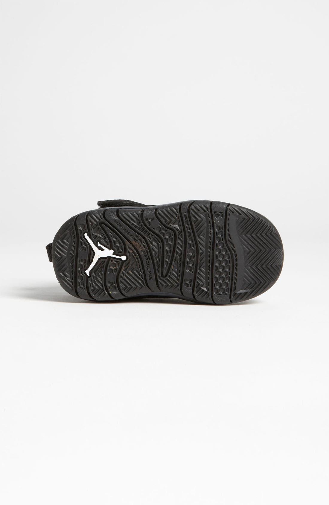 Alternate Image 4  - Nike 'Jordan Flight Team 11' Basketball Shoe (Baby, Walker & Toddler)