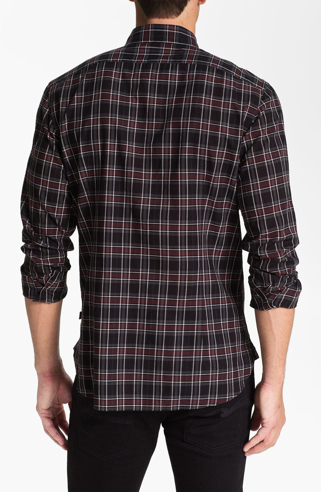 Alternate Image 2  - John Varvatos Star USA Trim Fit Sport Shirt