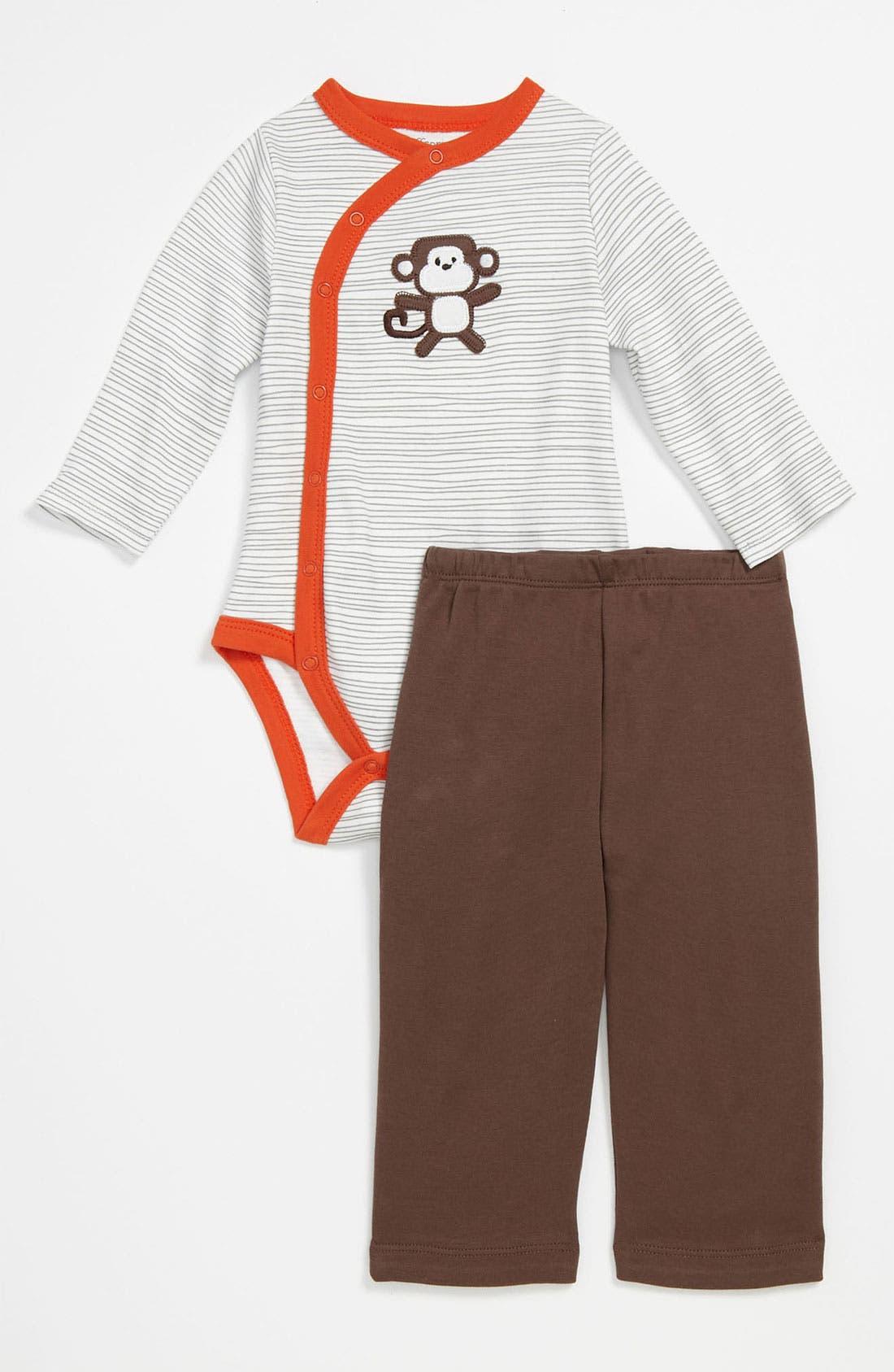 Alternate Image 2  - Offspring Bodysuit & Pants (Infant)