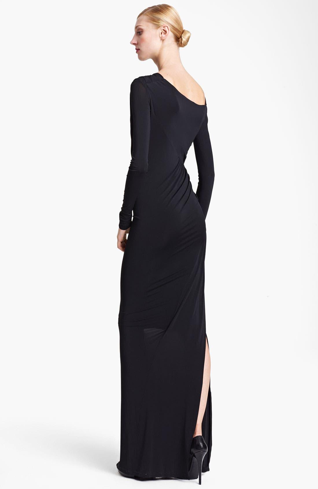 Alternate Image 2  - Donna Karan Collection Jersey Column Gown