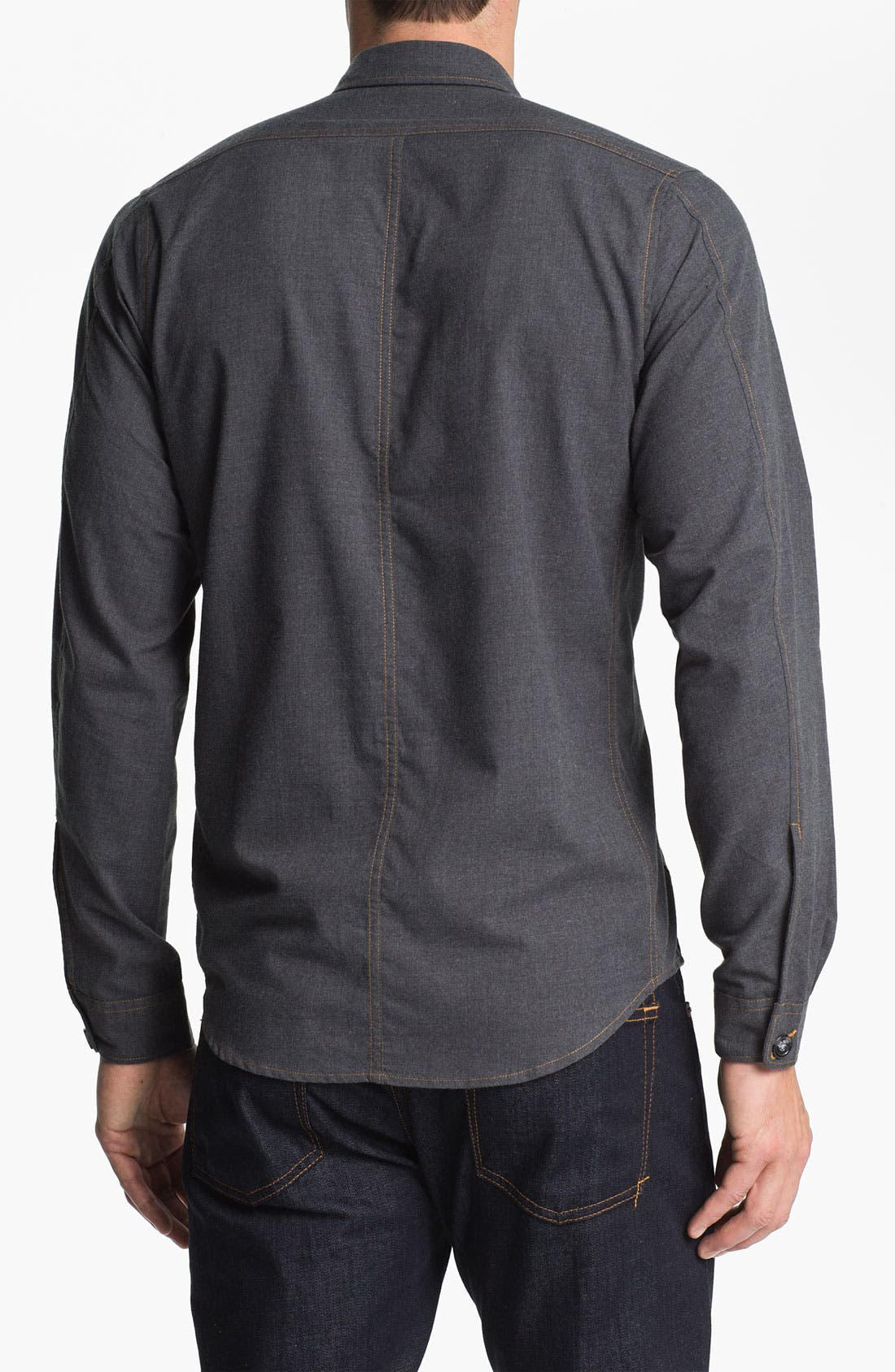 Alternate Image 2  - 55DSL 'Santos' Woven Shirt