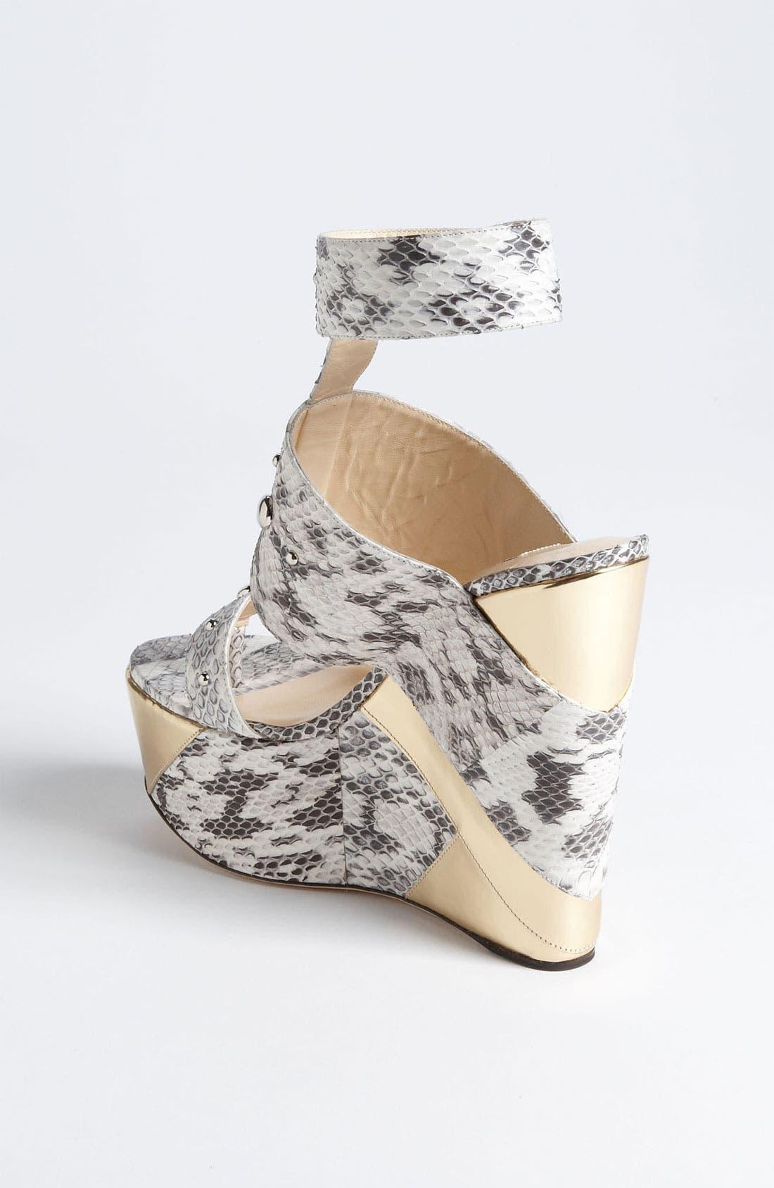 Alternate Image 2  - Jimmy Choo 'Bibi' Wedge Sandal