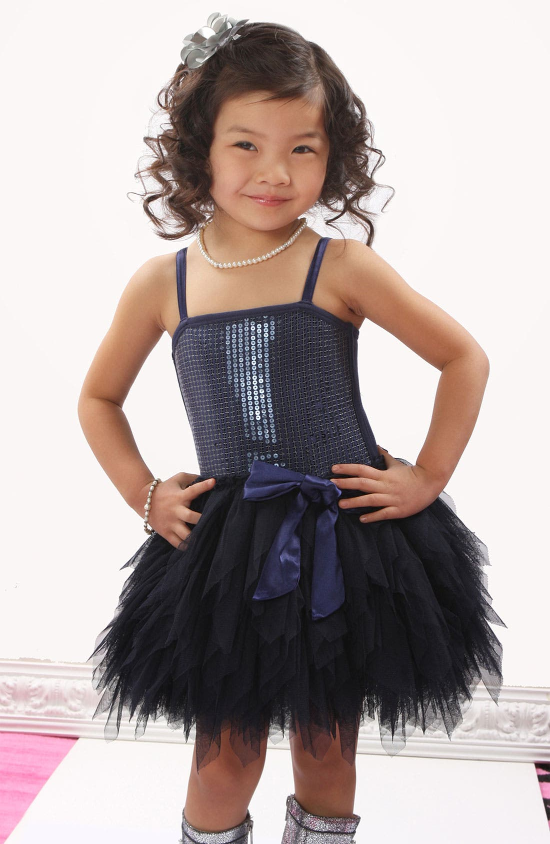 Alternate Image 2  - Ooh! La, La! Couture 'Wow' Sequin Tutu Dress (Big Girls)