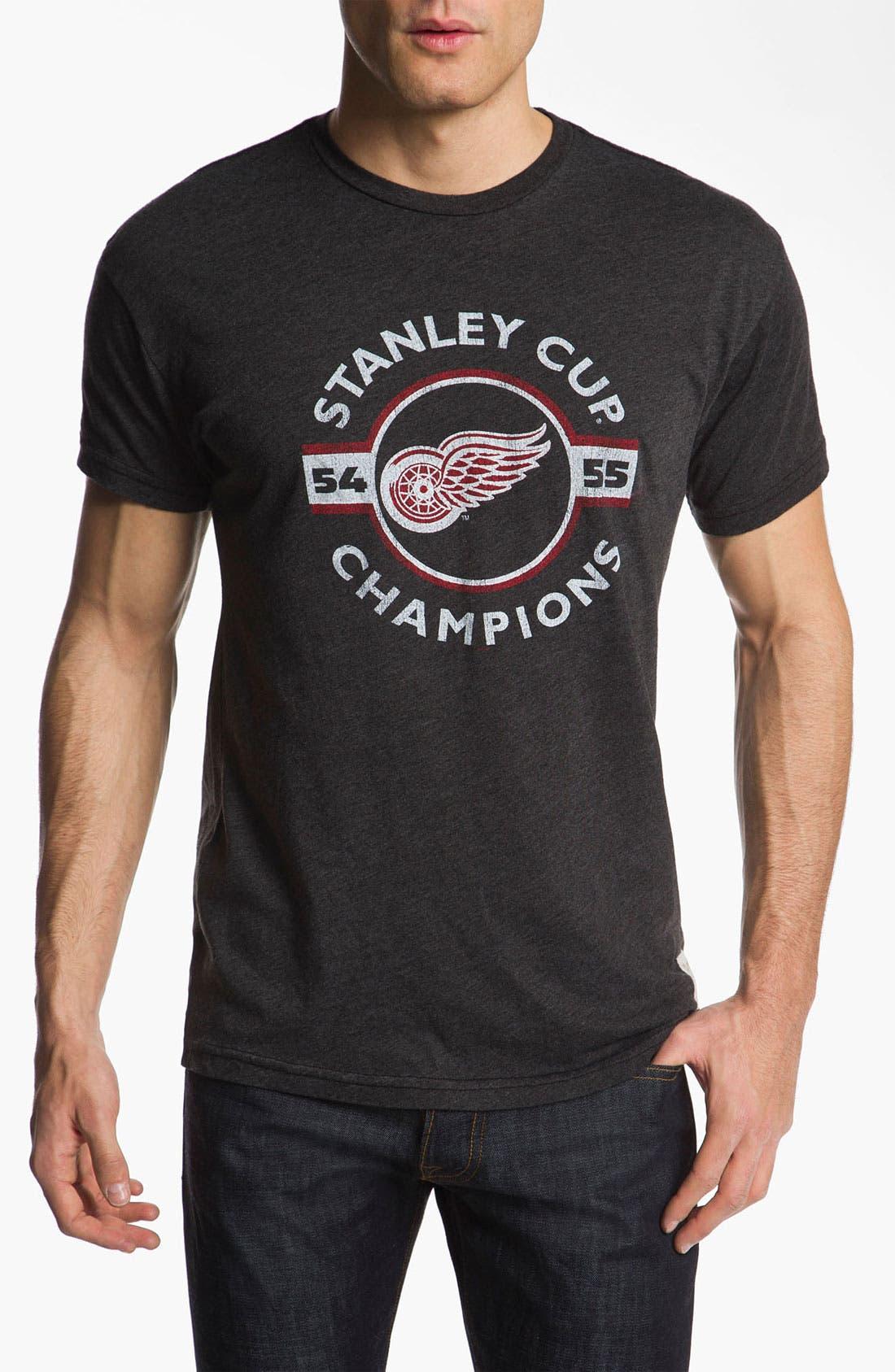 Main Image - The Original Retro Brand 'Detroit Red Wings' T-Shirt