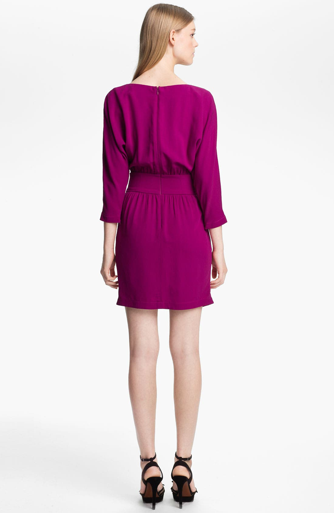 Alternate Image 2  - Halston Heritage Crepe Dress