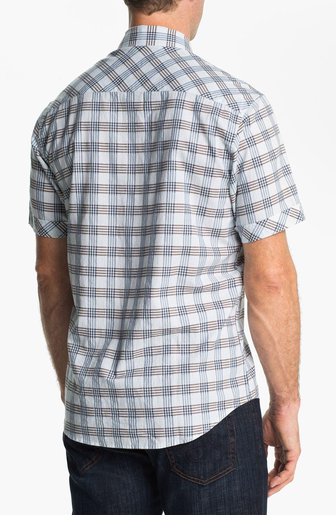Alternate Image 2  - James Campbell 'Blum Plaid' Sport Shirt