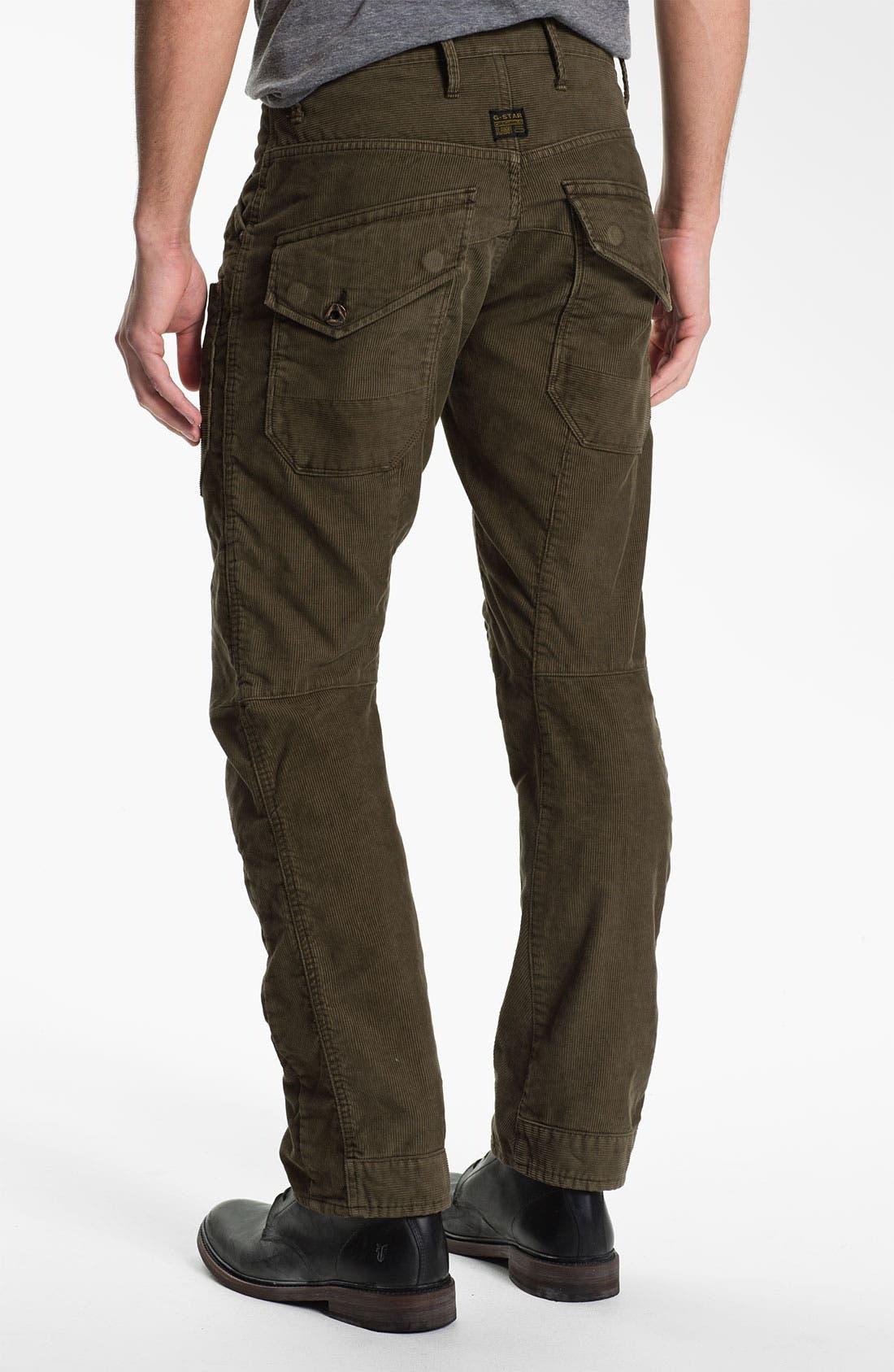 Main Image - G-Star Raw 'Skiff' Straight Leg Corduroy Pants