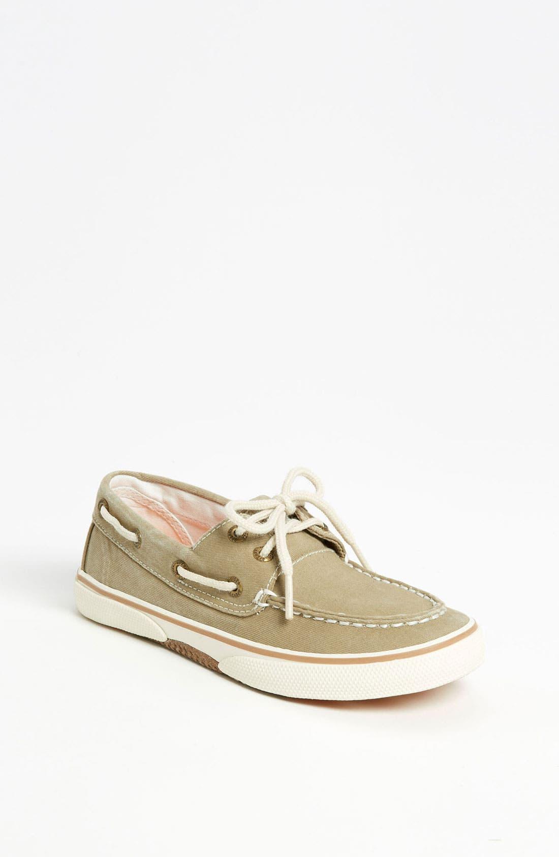 Main Image - Sperry Top-Sider® Kids 'Halyard' Boat Shoe (Walker, Toddler, Little Kid & Big Kid)