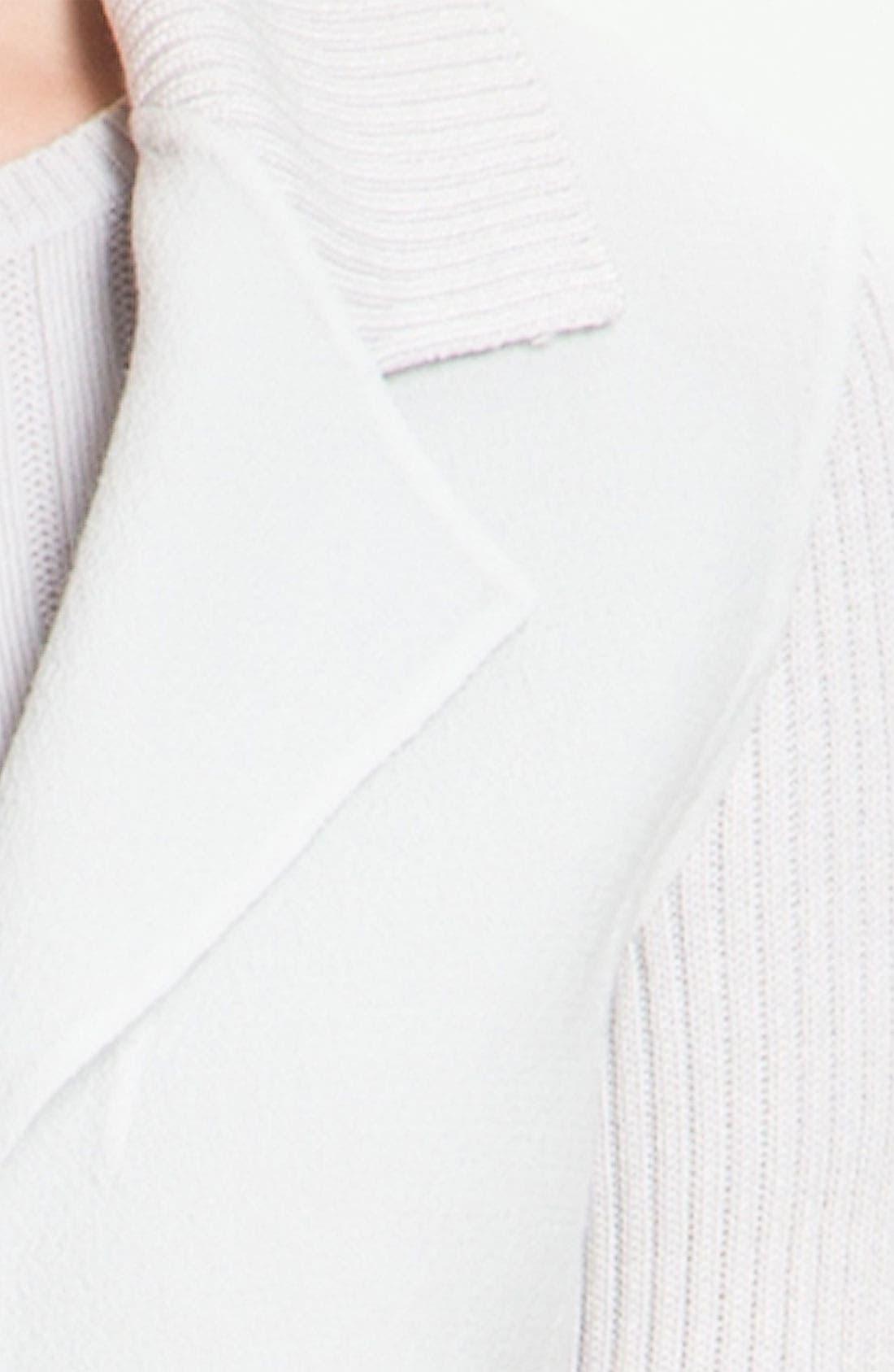 Alternate Image 5  - St. John Yellow Label Piqué & Rib Knit Sweater