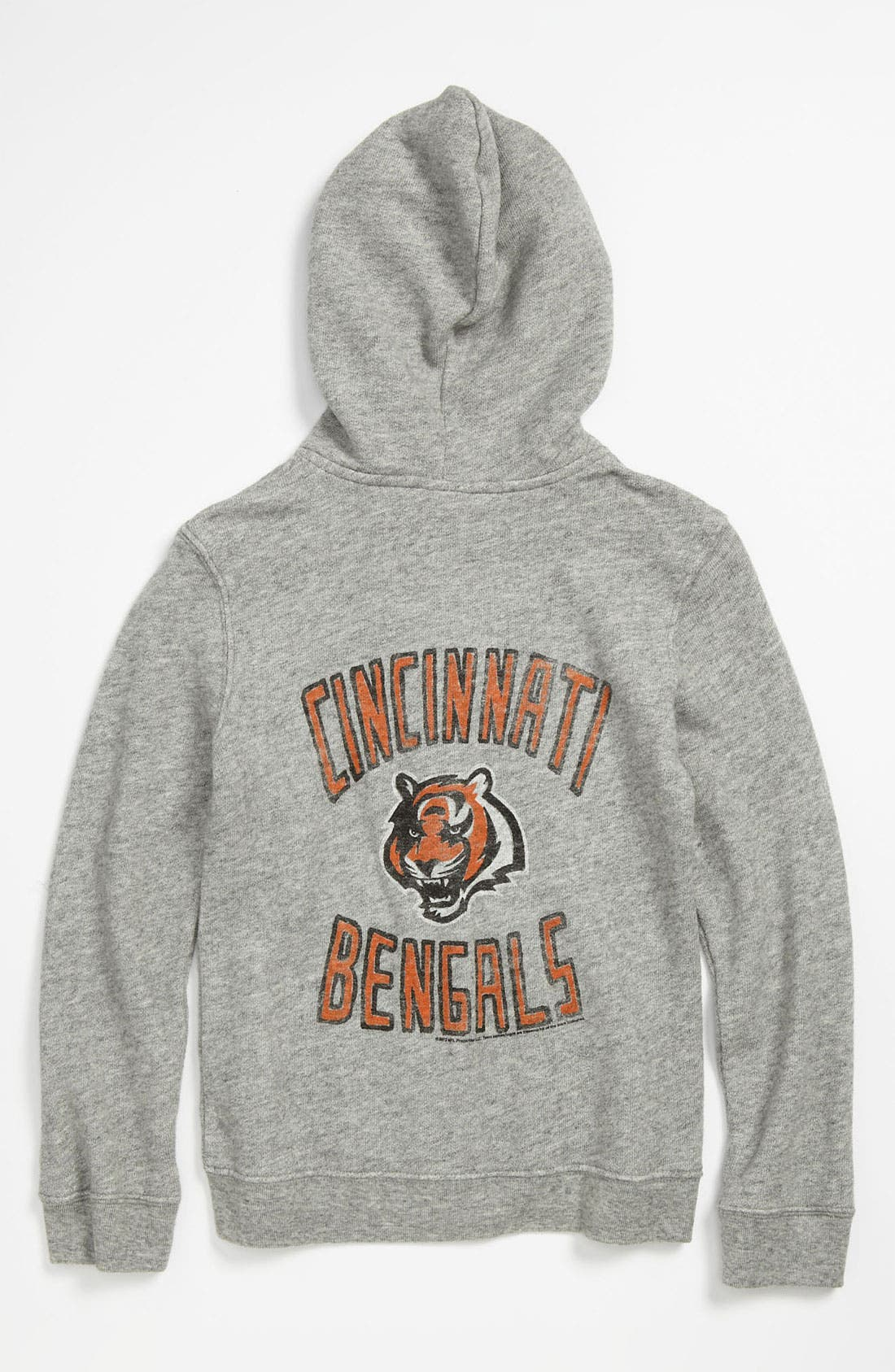 Alternate Image 1 Selected - Junk Food 'Cincinnati Bengals' Hoodie (Little Boys & Big Boys)
