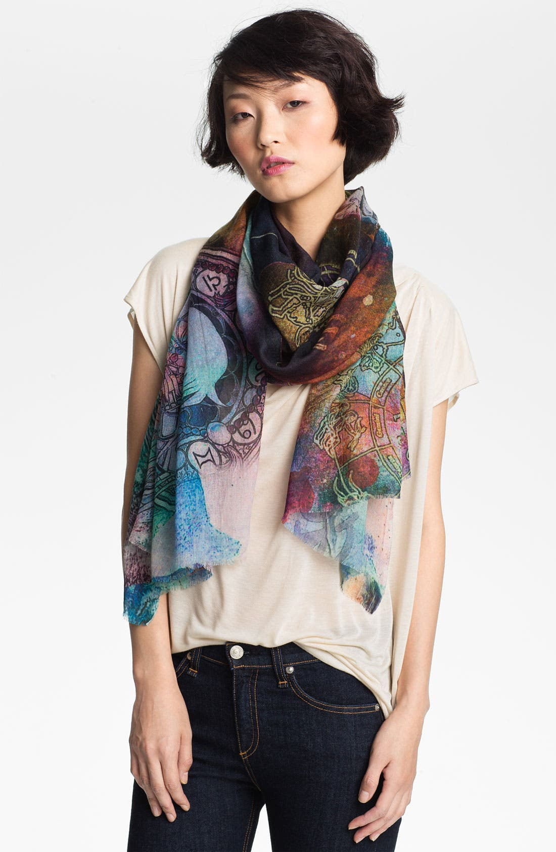 Alternate Image 1 Selected - Shawlux 'Virgo' Cashmere & Silk Scarf