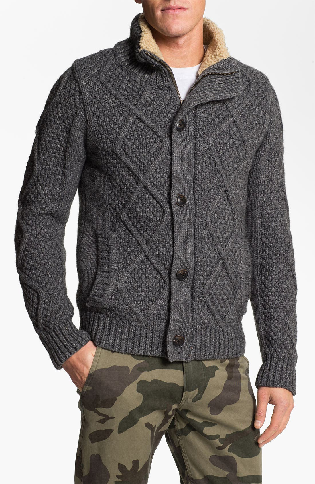 Alternate Image 1 Selected - Scotch & Soda Chunky Knit Sweater