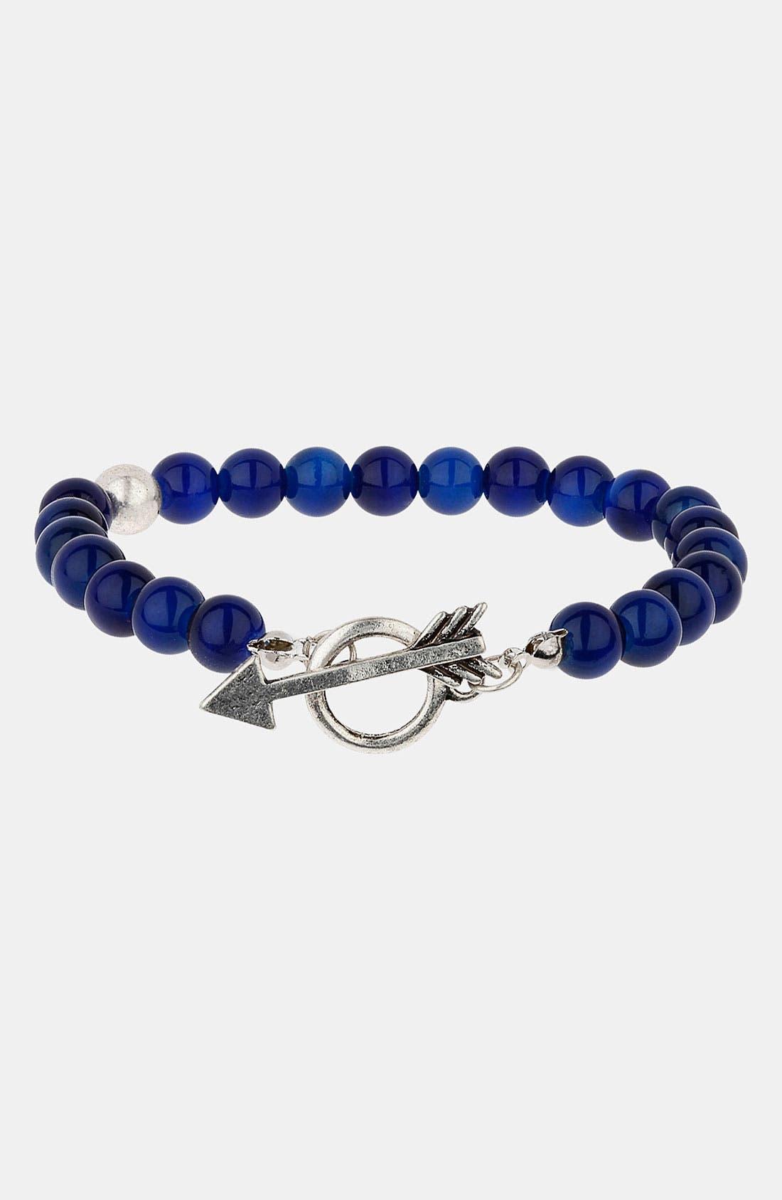 Alternate Image 1 Selected - Topman 'Cat's Eye' Bracelet