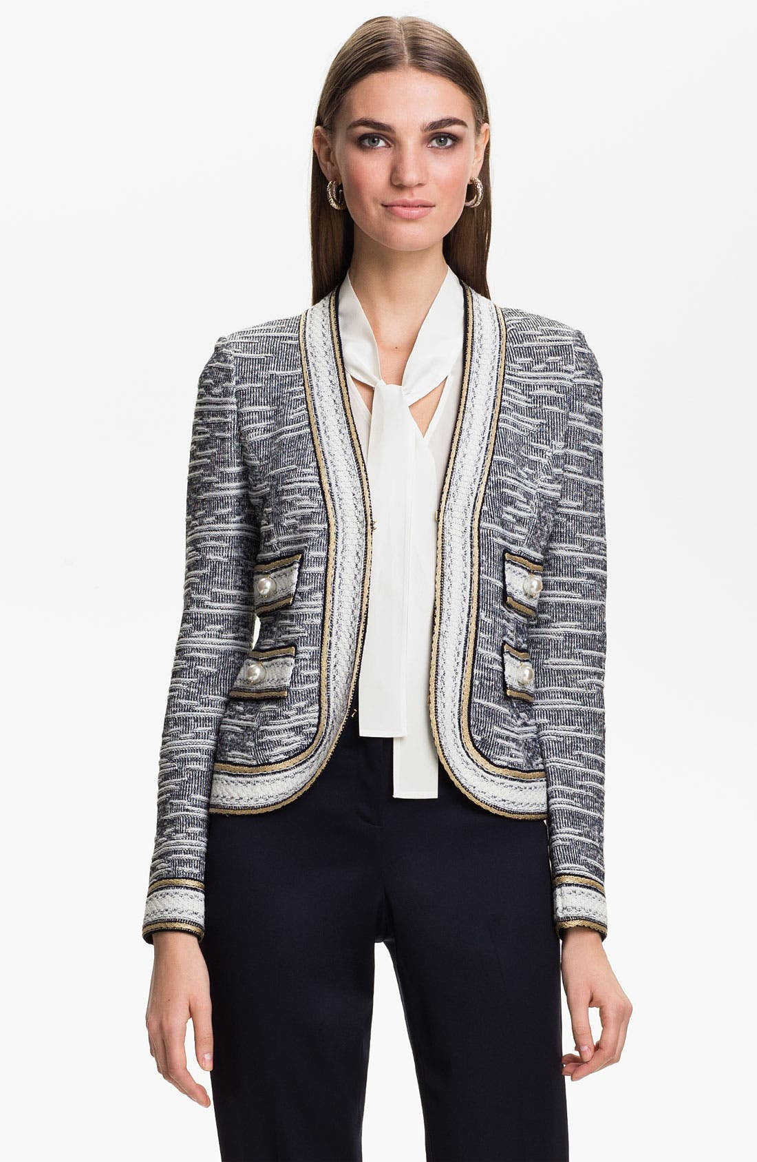 Alternate Image 1 Selected - St. John Collection Nautique Knit Jacket