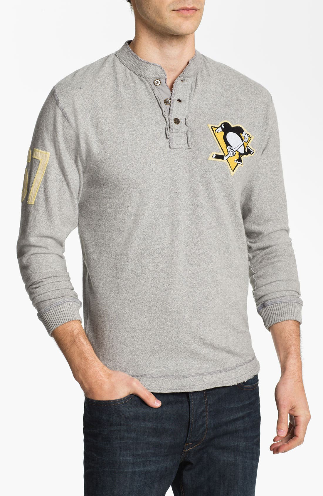 Alternate Image 1 Selected - Red Jacket 'Penguins - Ten Grand' Long Sleeve T-Shirt