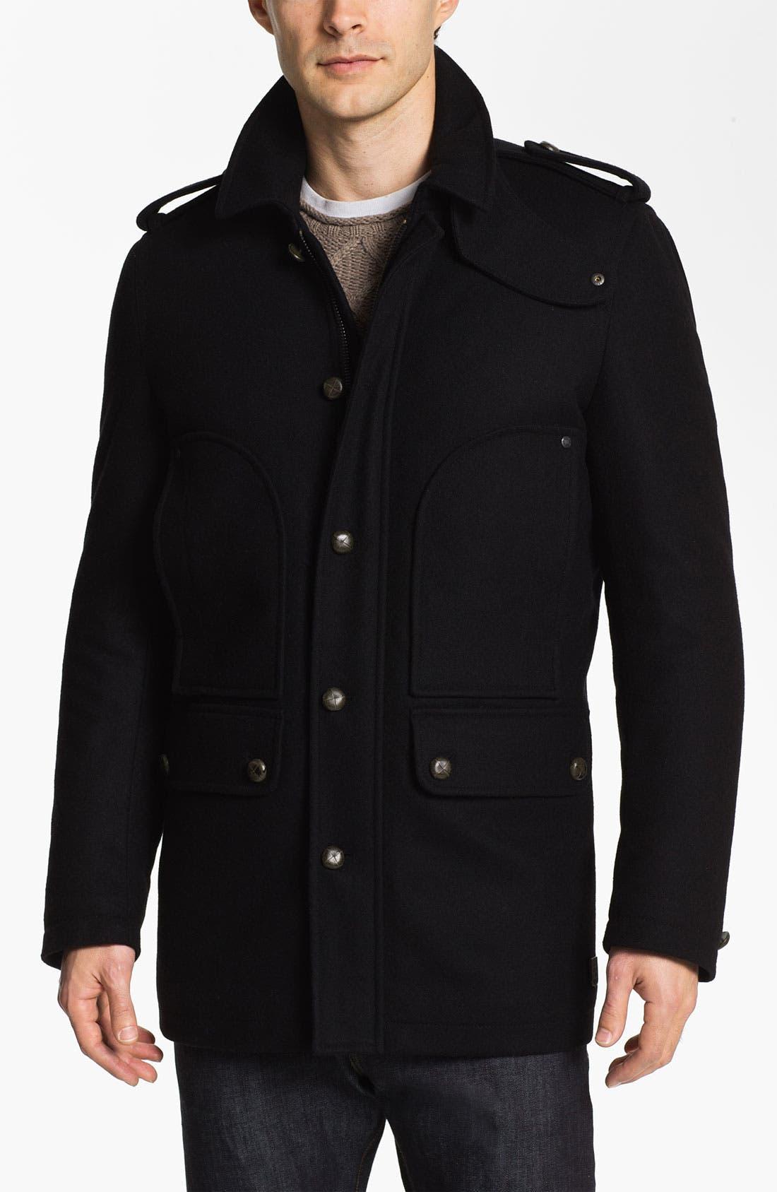 Main Image - Vince Camuto Wool & Cashmere Blend Car Coat