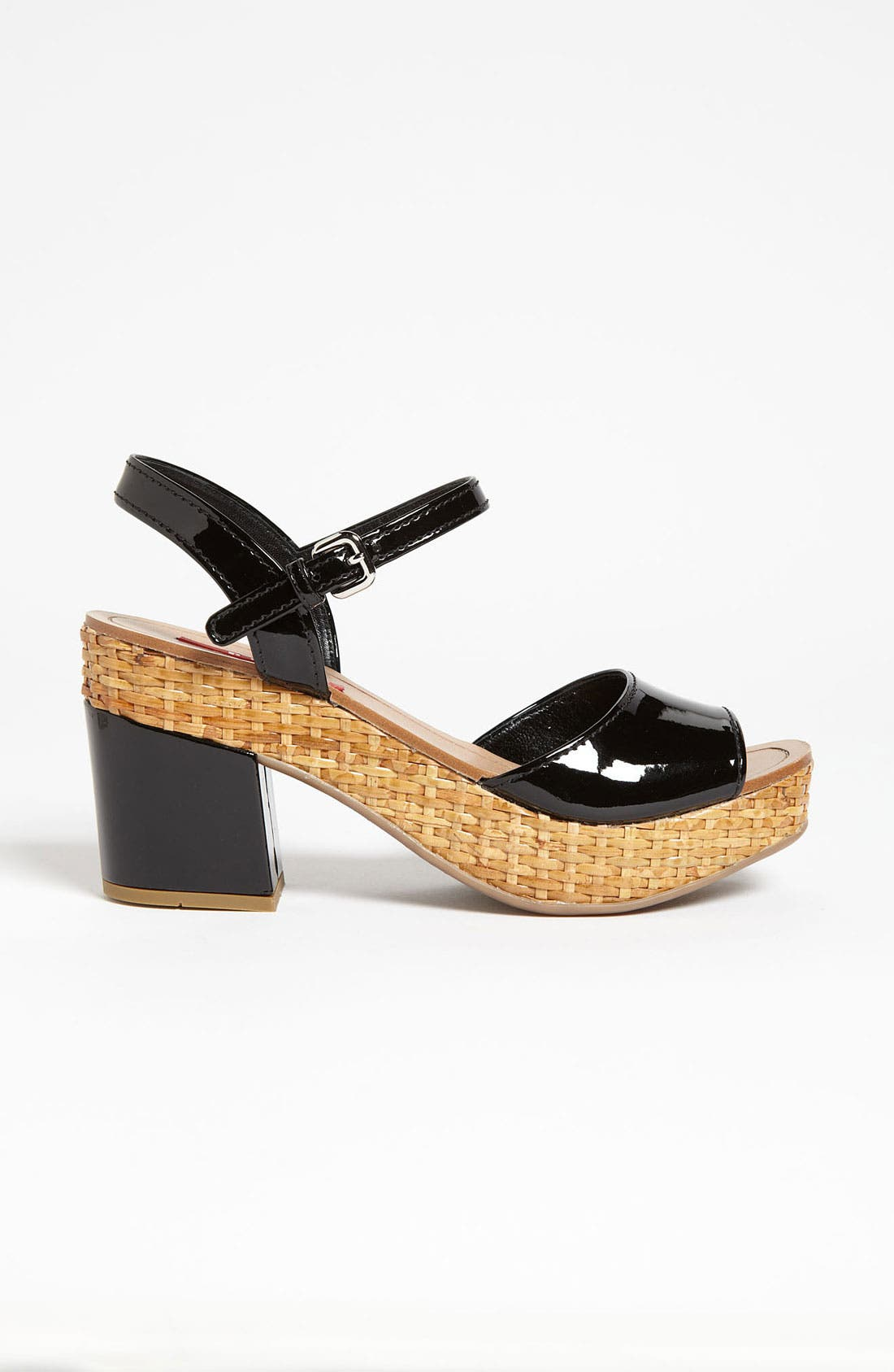 Alternate Image 4  - Prada Block Heel Sandal