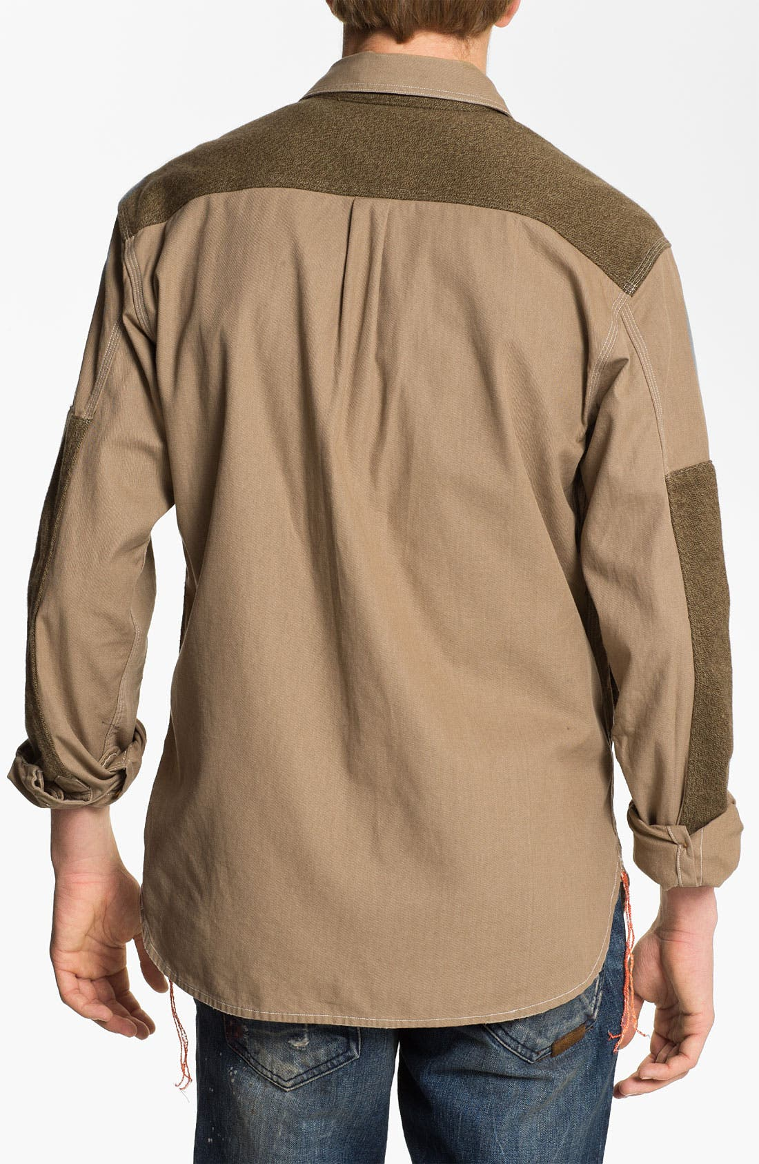 Alternate Image 2  - PRPS 'Utility' Woven Twill Shirt