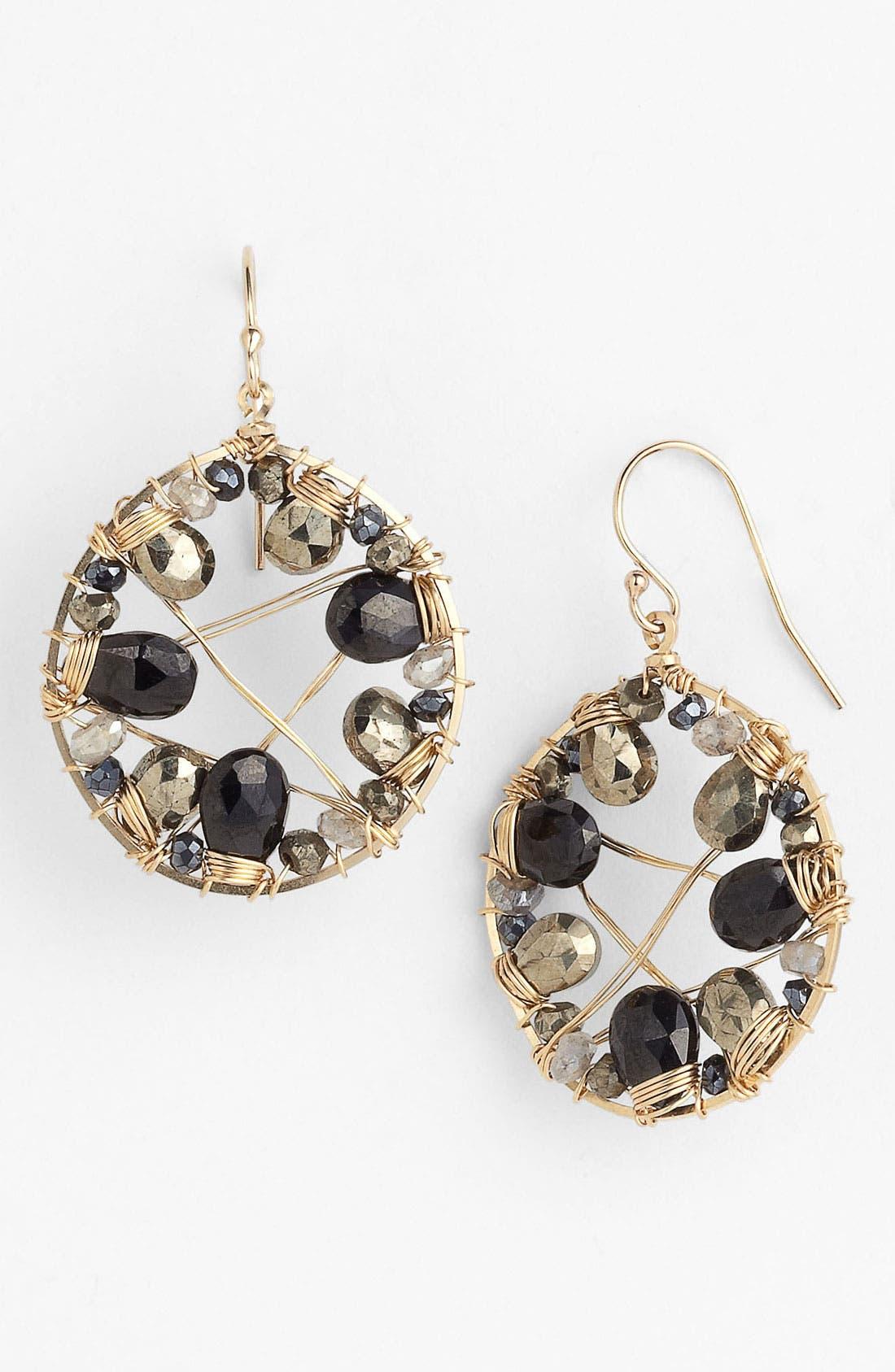 Alternate Image 1 Selected - NuNu Designs Drop Earrings