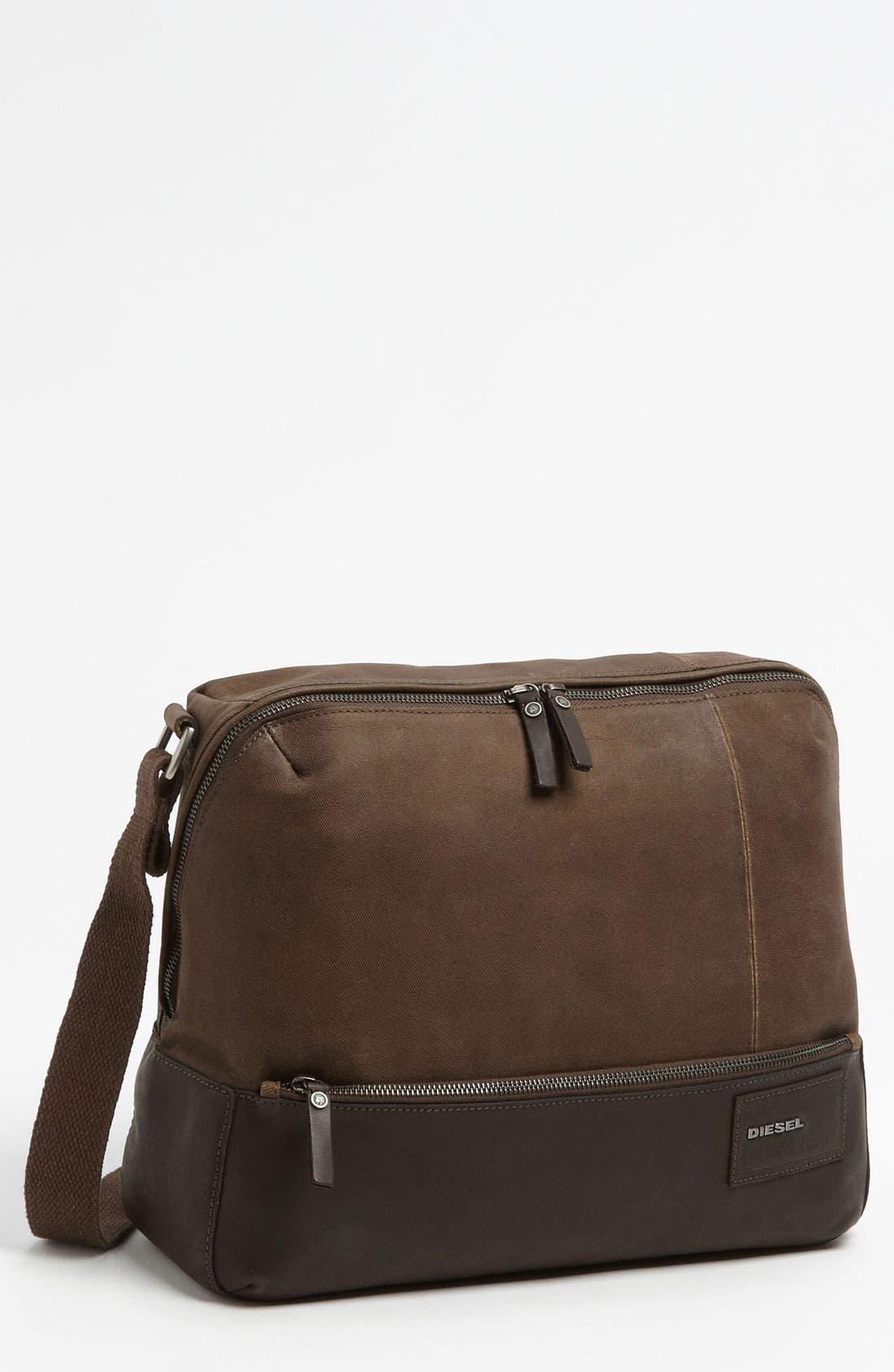 Alternate Image 1 Selected - DIESEL® 'Mad Words - Pi Special' Messenger Bag