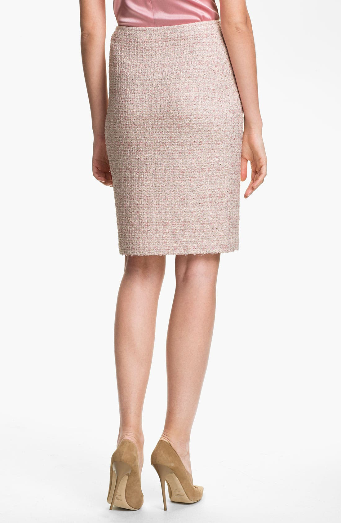 Alternate Image 3  - St. John Collection Eyelash Shimmer Tweed Pencil Skirt