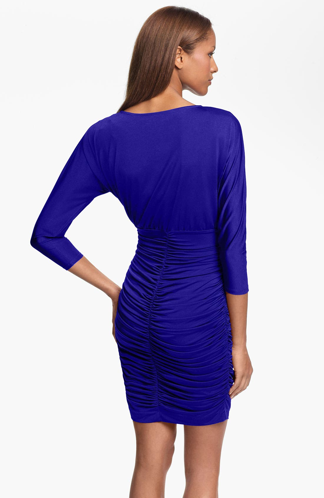 Alternate Image 2  - Marc New York by Andrew Marc Jersey Sheath Dress