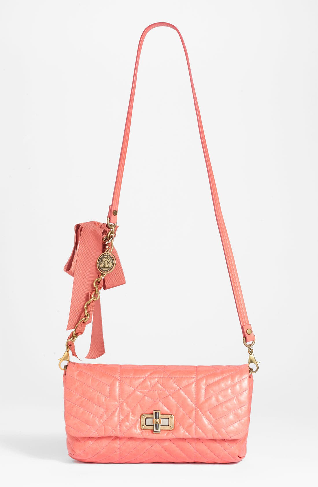 Main Image - Lanvin 'Happy' Quilted Leather Crossbody Bag