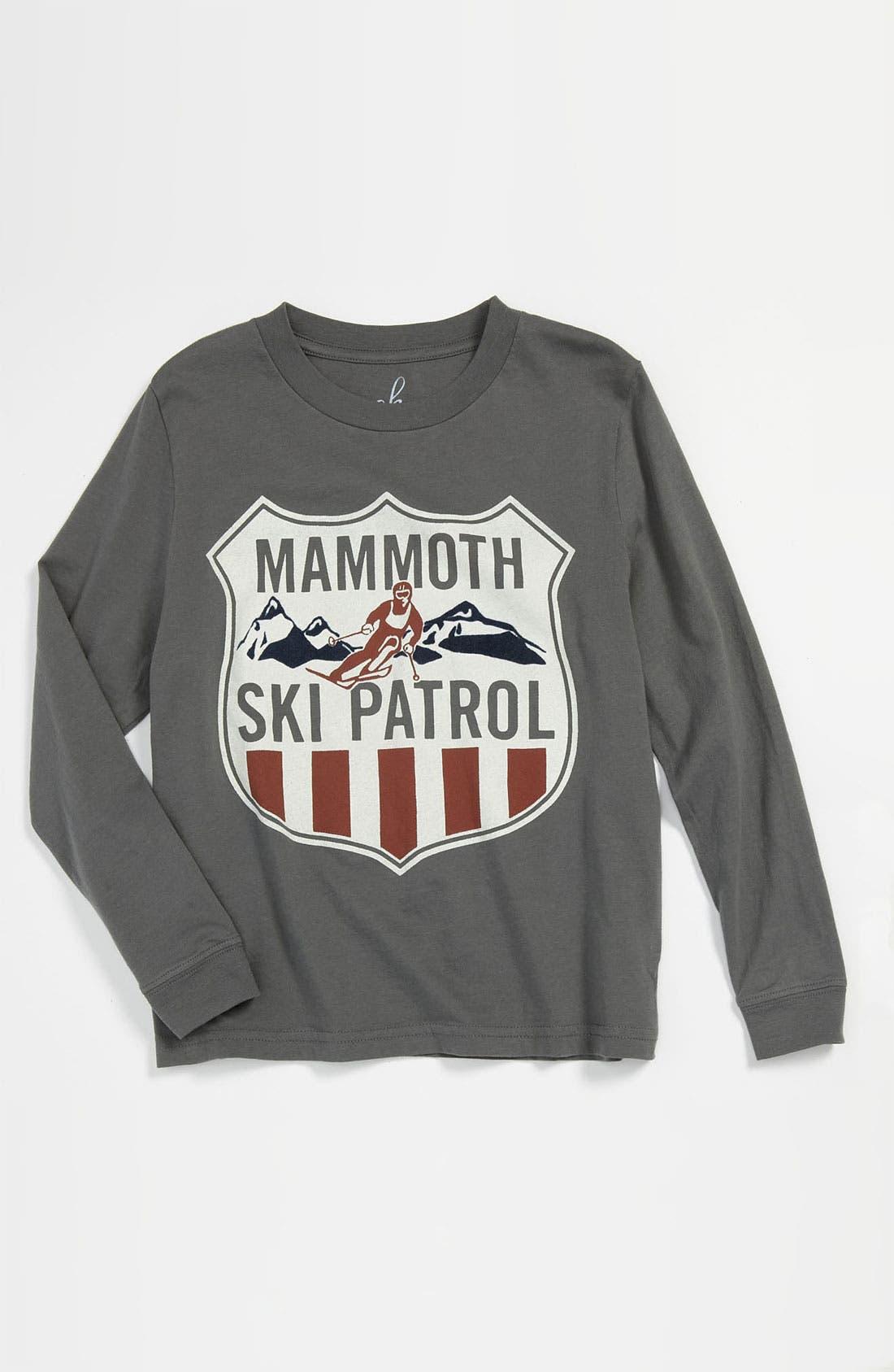 Alternate Image 1 Selected - Peek 'Mammoth Ski Patrol' T-Shirt (Toddler, Little Boys & Big Boys)
