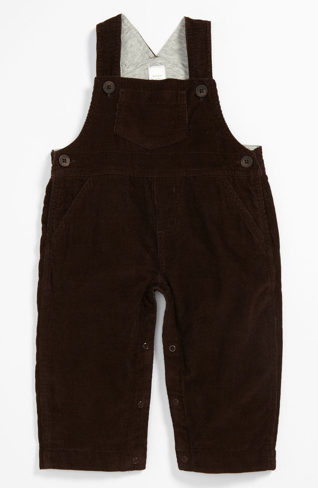 Alternate Image 1 Selected - Nordstrom Baby Corduroy Overalls (Infant)