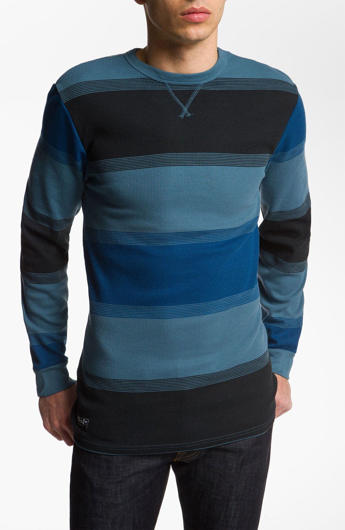 Alternate Image 1 Selected - Volcom 'Rail Way' Long Sleeve Thermal T-Shirt
