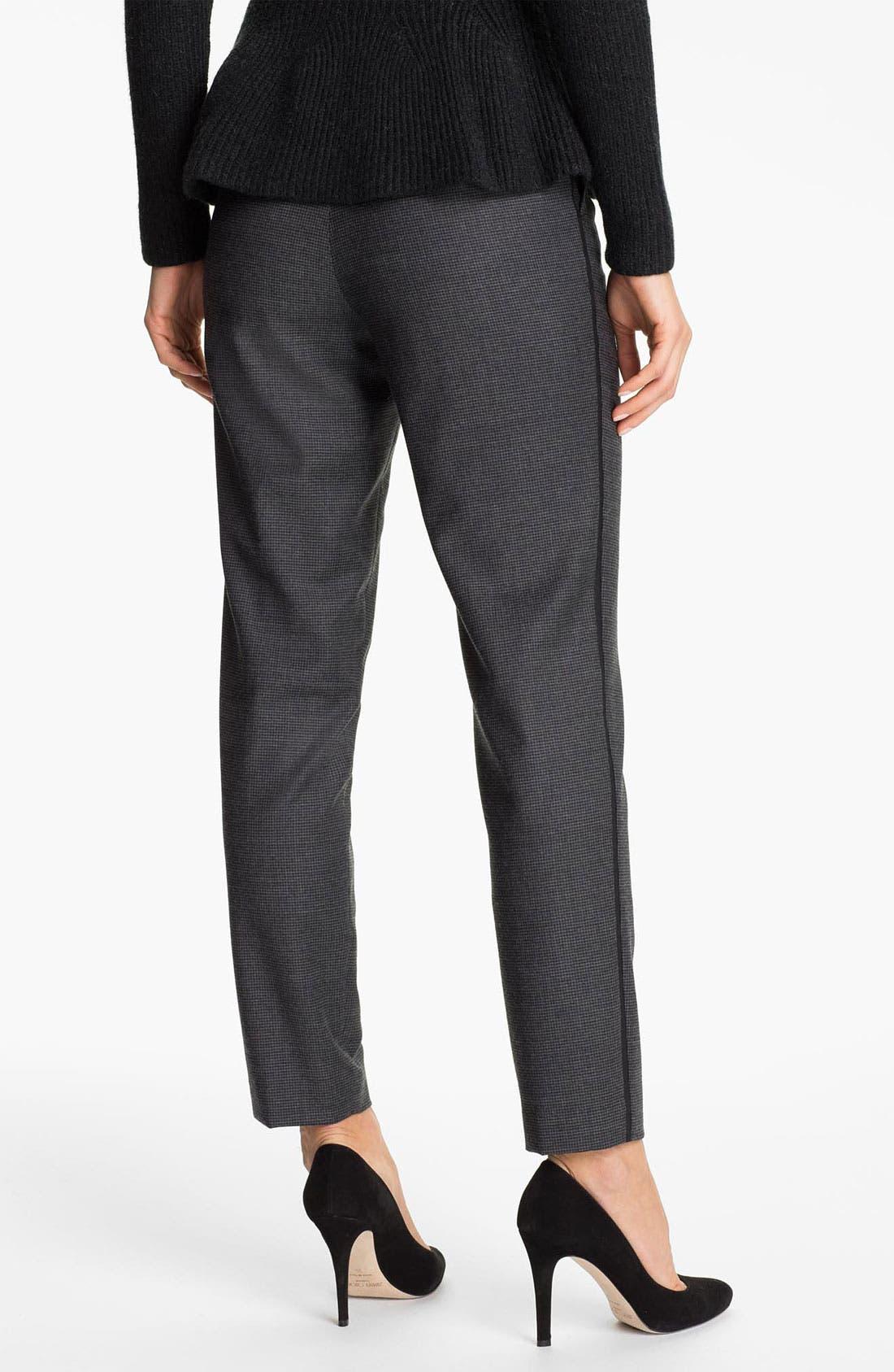 Alternate Image 2  - Ted Baker London 'Rhit' Wool Blend Ankle Trousers