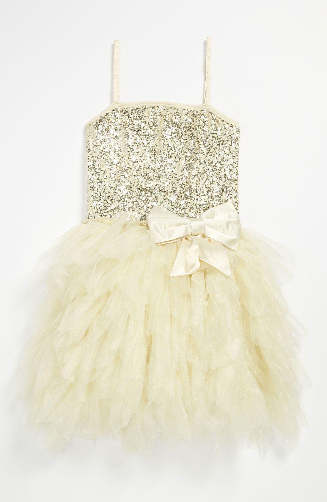 Main Image - Ooh! La, La! Couture 'Wow' Sequin Tutu Dress (Big Girls)