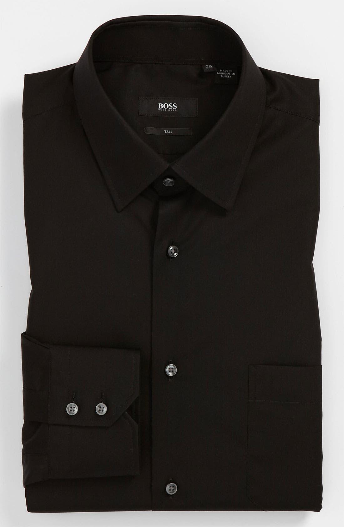 Main Image - BOSS Black Regular Fit Dress Shirt (Big & Tall) (Online Exclusive)