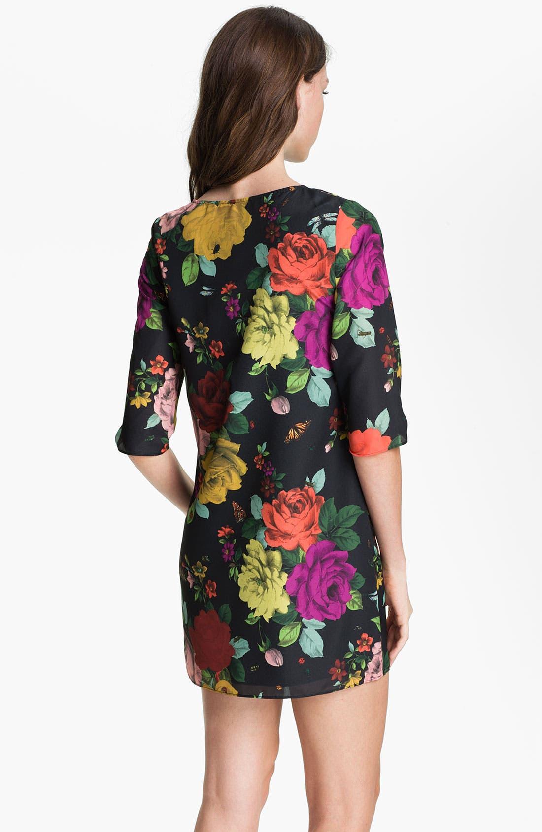 Alternate Image 2  - Ted Baker London Print Tunic Dress