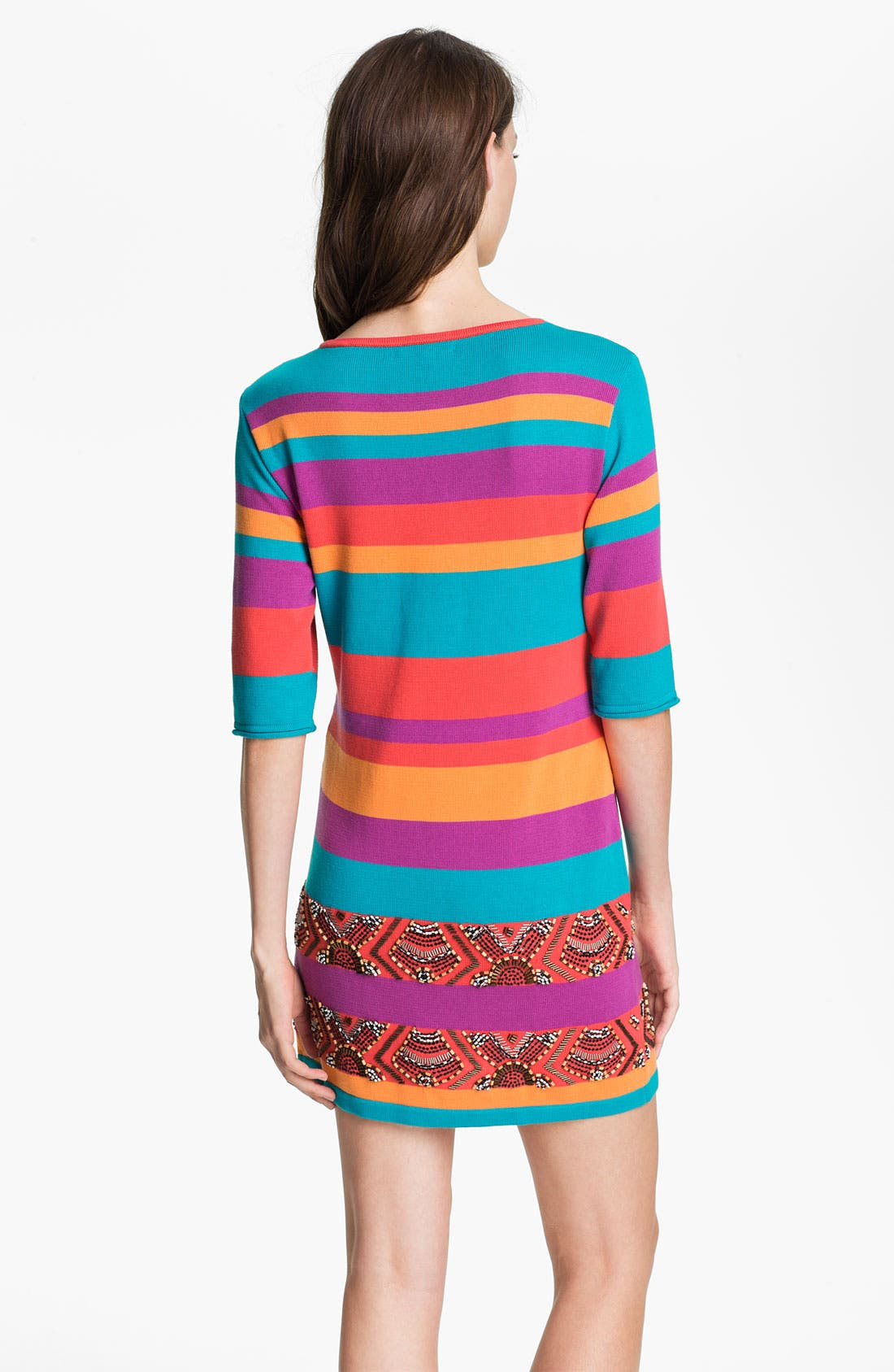Alternate Image 2  - Nanette Lepore 'Wah Wah' Cotton Sweater Dress