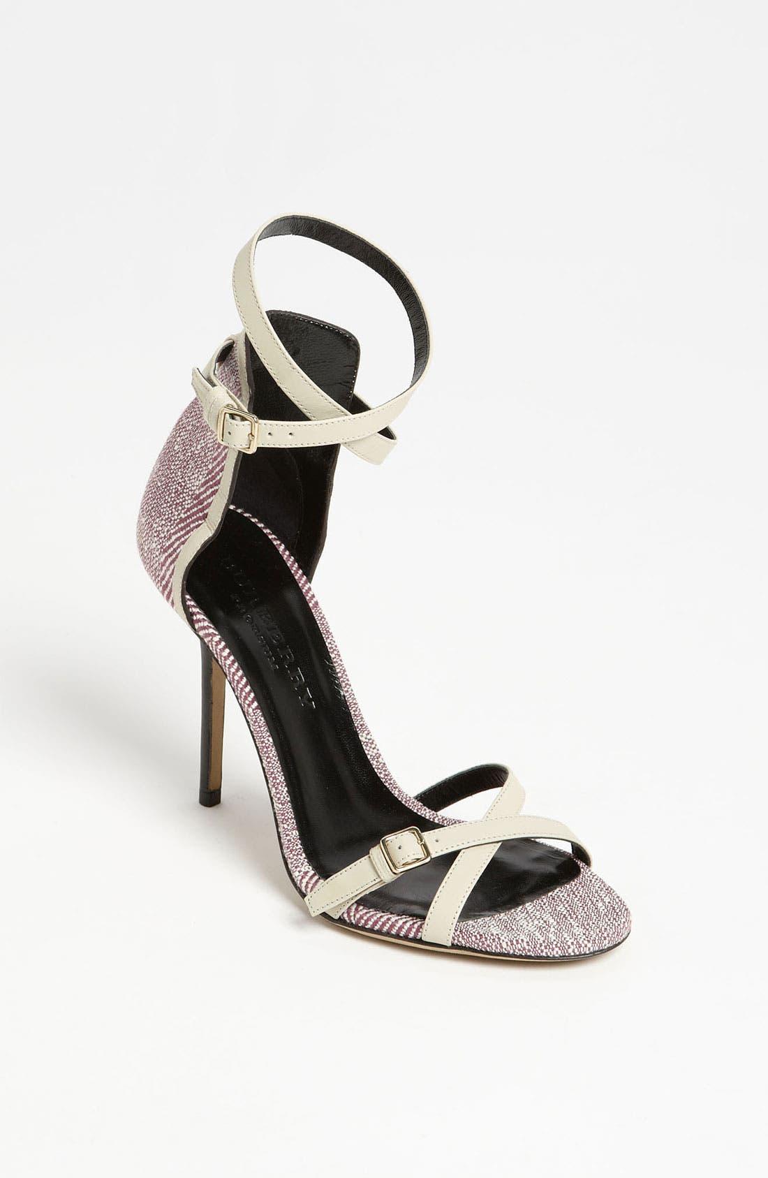Main Image - Burberry 'Norrice' Sandal